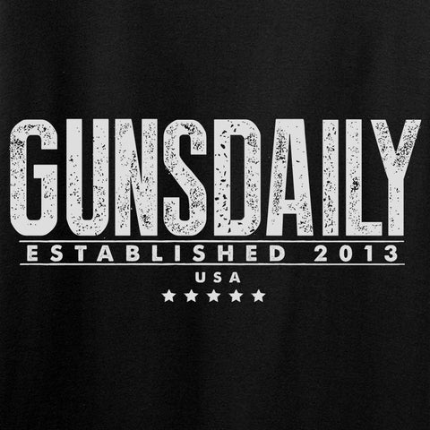 Gunsdaily Full Text Logo Long Sleeve T-Shirt