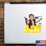 Gun Nerds Sticker & Decal