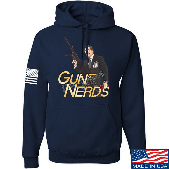 Office Space Gun Nerd Hoodie [9mm]