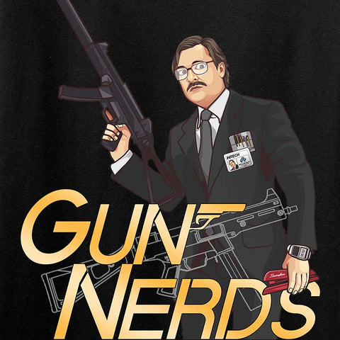Office Space Gun Nerd T-Shirt