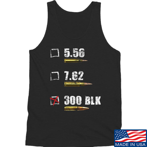 IV8888 300 BLK Tank Tanks SMALL / Black by Ballistic Ink - Made in America USA