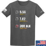 IV8888 300 BLK T-Shirt T-Shirts Small / Charcoal by Ballistic Ink - Made in America USA