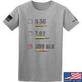 IV8888 300 BLK T-Shirt T-Shirts Small / Light Gray by Ballistic Ink - Made in America USA