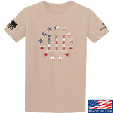 IV8888 Three Percenter T-Shirt T-Shirts Small / Sand by Ballistic Ink - Made in America USA
