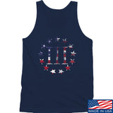 IV8888 Three Percenter Tank Tanks SMALL / Navy by Ballistic Ink - Made in America USA
