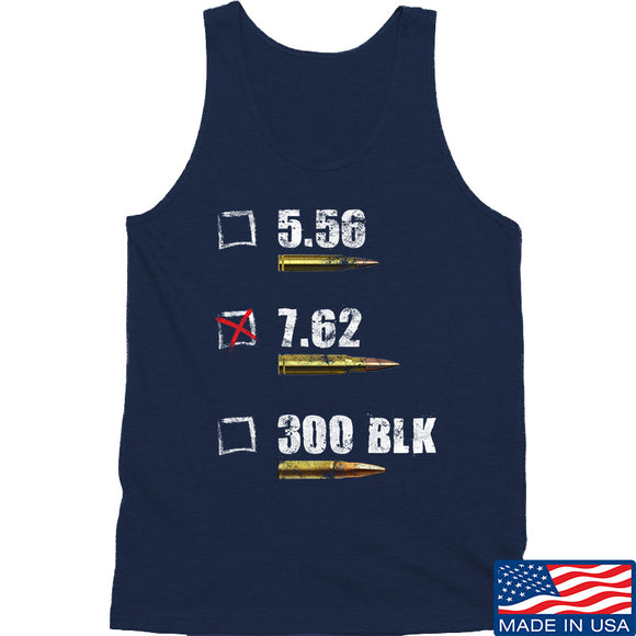 IV8888 7.62 Tank Tanks SMALL / Navy by Ballistic Ink - Made in America USA