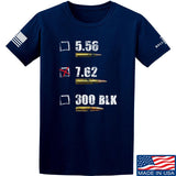 IV8888 7.62 T-Shirt T-Shirts Small / Navy by Ballistic Ink - Made in America USA