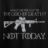 IV8888 AR15 Not Today T-Shirt T-Shirts [variant_title] by Ballistic Ink - Made in America USA