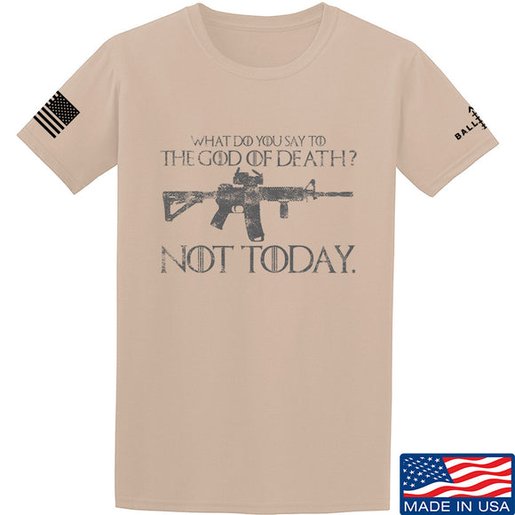 IV8888 AR15 Not Today T-Shirt T-Shirts Small / Sand by Ballistic Ink - Made in America USA