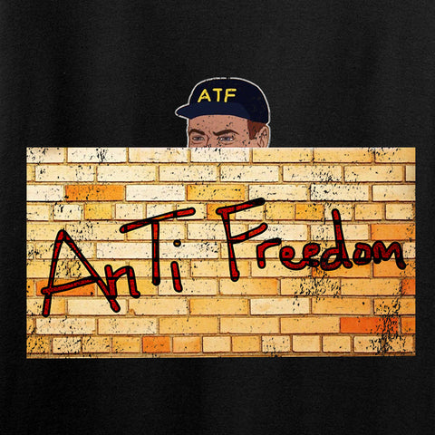 IV8888 ATF (AnTiFreedom) Long Sleeve T-Shirt Long Sleeve [variant_title] by Ballistic Ink - Made in America USA