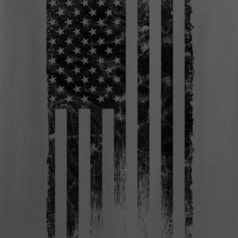 IV8888 Distressed Black Flag T-Shirt T-Shirts [variant_title] by Ballistic Ink - Made in America USA