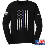 IV8888 Thin Blue Line Long Sleeve T-Shirt Long Sleeve Small / Black by Ballistic Ink - Made in America USA
