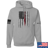 IV8888 Thin Red Line Hoodie Hoodies Small / Light Grey by Ballistic Ink - Made in America USA