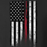 IV8888 Thin Red Line Hoodie Hoodies [variant_title] by Ballistic Ink - Made in America USA