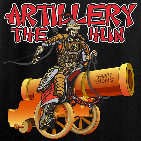 IV8888 Artillery the Hun Long Sleeve T-Shirt Long Sleeve [variant_title] by Ballistic Ink - Made in America USA