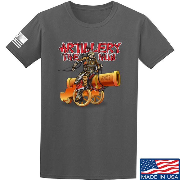IV8888 Artillery the Hun T-Shirt T-Shirts Small / Charcoal by Ballistic Ink - Made in America USA