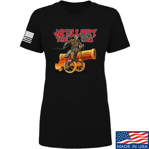 IV8888 Ladies Artillery the Hun T-Shirt T-Shirts SMALL / Light Grey by Ballistic Ink - Made in America USA