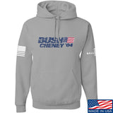 IV8888 Bush Cheney Hoodie Hoodies Small / Light Grey by Ballistic Ink - Made in America USA