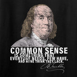 IV8888 Benjamin Franklin Common Sense T-Shirt T-Shirts [variant_title] by Ballistic Ink - Made in America USA