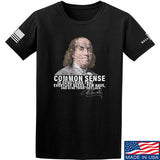 IV8888 Benjamin Franklin Common Sense T-Shirt T-Shirts Small / Black by Ballistic Ink - Made in America USA