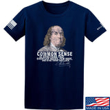 IV8888 Benjamin Franklin Common Sense T-Shirt T-Shirts Small / Navy by Ballistic Ink - Made in America USA
