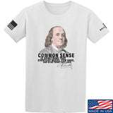 IV8888 Benjamin Franklin Common Sense T-Shirt T-Shirts Small / White by Ballistic Ink - Made in America USA