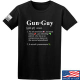 IV8888 Gun Guy T-Shirt T-Shirts Small / Black by Ballistic Ink - Made in America USA