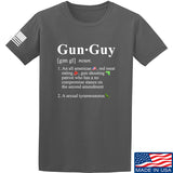 IV8888 Gun Guy T-Shirt T-Shirts Small / Charcoal by Ballistic Ink - Made in America USA