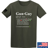 IV8888 Gun Guy T-Shirt T-Shirts Small / Military Green by Ballistic Ink - Made in America USA