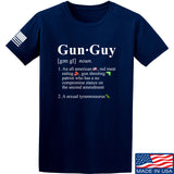 IV8888 Gun Guy T-Shirt T-Shirts Small / Navy by Ballistic Ink - Made in America USA