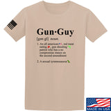 IV8888 Gun Guy T-Shirt T-Shirts Small / Sand by Ballistic Ink - Made in America USA