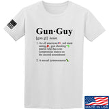 IV8888 Gun Guy T-Shirt T-Shirts Small / White by Ballistic Ink - Made in America USA