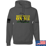 IV8888 Don't Tread on Me Hoodie Hoodies Small / Charcoal by Ballistic Ink - Made in America USA