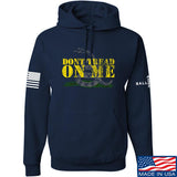 IV8888 Don't Tread on Me Hoodie Hoodies Small / Navy by Ballistic Ink - Made in America USA