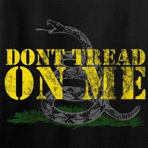 IV8888 Don't Tread on Me Long Sleeve T-Shirt Long Sleeve [variant_title] by Ballistic Ink - Made in America USA