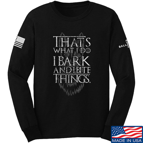 IV8888 GoT Malinois Long Sleeve T-Shirt Long Sleeve Small / Black by Ballistic Ink - Made in America USA
