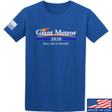 IV8888 Giant Meteor 2020 T-Shirt T-Shirts Small / Blue by Ballistic Ink - Made in America USA