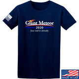 IV8888 Giant Meteor 2020 T-Shirt T-Shirts Small / Navy by Ballistic Ink - Made in America USA