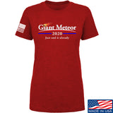 IV8888 Ladies Giant Meteor 2020 T-Shirt T-Shirts SMALL / Red by Ballistic Ink - Made in America USA