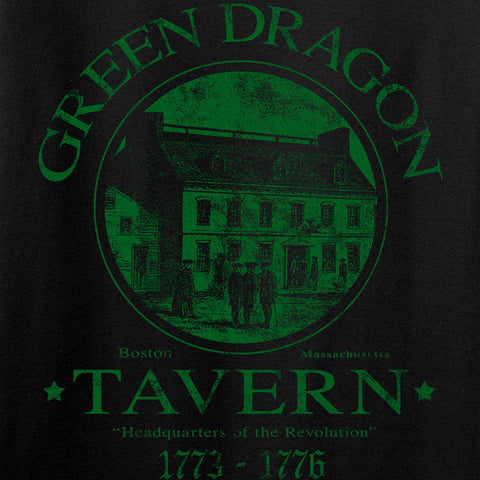 IV8888 Green Dragon Tavern T-Shirt T-Shirts [variant_title] by Ballistic Ink - Made in America USA