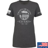 IV8888 Ladies Green Dragon Tavern T-Shirt T-Shirts SMALL / Charcoal by Ballistic Ink - Made in America USA