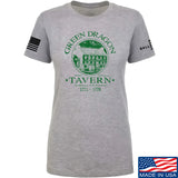 IV8888 Ladies Green Dragon Tavern T-Shirt T-Shirts SMALL / Light Grey by Ballistic Ink - Made in America USA
