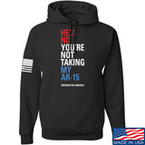 IV8888 Hell No Beto Hoodie Hoodies Small / Black by Ballistic Ink - Made in America USA