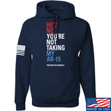IV8888 Hell No Beto Hoodie Hoodies Small / Navy by Ballistic Ink - Made in America USA