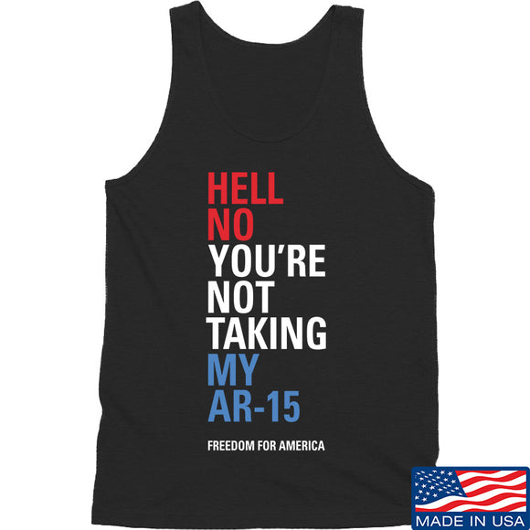 IV8888 Hell No Beto Tank Tanks SMALL / Black by Ballistic Ink - Made in America USA