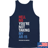 IV8888 Hell No Beto Tank Tanks SMALL / Navy by Ballistic Ink - Made in America USA