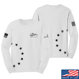 IV8888 Join or Die Long Sleeve T-Shirt Long Sleeve Small / White by Ballistic Ink - Made in America USA