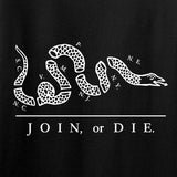IV8888 Join or Die Long Sleeve T-Shirt Long Sleeve [variant_title] by Ballistic Ink - Made in America USA