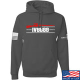 IV8888 IV8888 Logo Hoodie Hoodies Small / Charcoal by Ballistic Ink - Made in America USA
