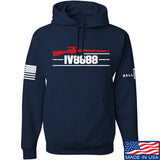 IV8888 IV8888 Logo Hoodie Hoodies Small / Navy by Ballistic Ink - Made in America USA